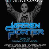 DarrenPorter Live harmony Trance 11 Aniversary@Specka Club Madrid (13-02-16)