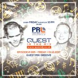 QUEST In The Mix # 085 - Guest Mix: GROOVE @ Polish Radio London / 01.12.2017