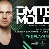 Dmitry Molosh live at The Playground Malta