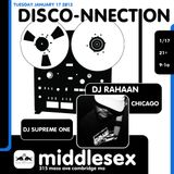 DISCO-NNECTION 1/16/12 with Dj Rahaan (me 0:00-1:31, Rah 1:31- 2:56)