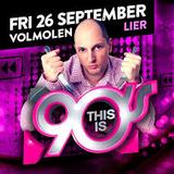 dj A-Tom-X @ Volmolen - This Is 90's 26-09-2014