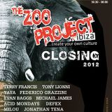 Federico Grazzini & Yaya @ Zoo Project Closing - 06.10.2012