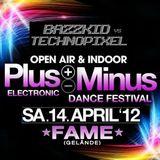 bazzkid, technopixel, plus-minus, festival, 2012, rottweil, fame,
