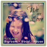 DJ XLarge - We Are Love (Bigroom Vocal Mix 30min)