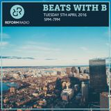 Beats With B 5th April 2016