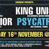 2012-11-16 GabiM DarkBeat Warm up - King Unique,Luis Junior,D-Nox,Psycatron