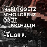 Maria Goetz - Live at Tresor 2013 - NEW FACES with Krenzlin