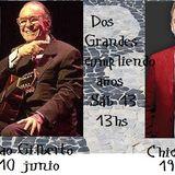 Os Bastidores / Música del Brasil de óptima calidad en Radio TABÚ / Dos grande de cumpleaños 13 jun
