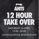 Tapesh - Live @ Rinse Fm, Ants 12 Hour Take Over (London, UK) - 16.04.2017