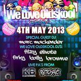 DJ MARC MACKENDER LIVE @ WE LOVE OLDSKOOL (CLUB RETRO FARNWORTH)
