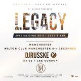 Legacy Tour Promo Mix : 90s & 2000s R&B Mix