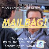 "Rick Pecoraro Talks to Himself #74 ""Mailbag!"" - 12/14/2017"