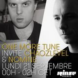 Chaozlevel @ One More Tune #26 Rinse France (21.09.15)