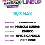 MARCUS BURIAN - MB SET VOL. 10  ''LIVE'' MÁCHÁČ TOUR OFFICIAL - MAX - ŽDÁR NAD SÁZAVOU