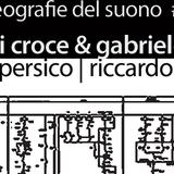 Geografie del suono #22 // Nicola Di Croce & Gabriele Mitelli // Sara Persico, Riccardo Villari