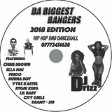 Da Biggest Bangers 2018 Edition RnB HipHop Dancehall Mixed By DJ Drizz