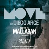 Move! 030 by Diego Arce # MALLABAN Guest DJ