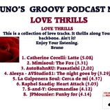 Bruno's groovy podcast n° 2 - Love Thrills