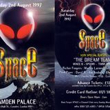 MARTIN LARNER LIVE AT SPACE - CAMDEN PALACE, LONDON - AUG 2nd 1997