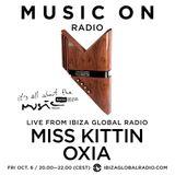Oxia b2b Miss Kittin - Live @ It's All About the Music, Ibiza Global Radio (Ibiza, ES) - 06.10.2017