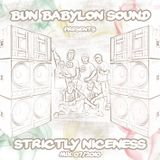 Bun Babylon Sound - Strictly Niceness Vol.1 (AUG 2010)