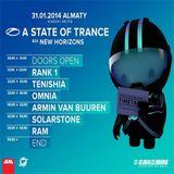 Rank 1 - A State Of Trance 650 (Almaty, Kazakhstan) - 31.01.2014