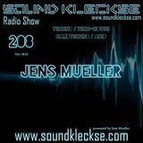 Sound Kleckse Radio Show 0208 - Jens Mueller - 24.10.2016