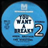 You Want A Break? Amen Brother - Part 2