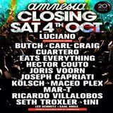 Butch - Live At Amnesia Closing Party, Terrace (Ibiza) - 04-Oct-2014