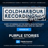 Coldharbour Sessions 007: Hosted by Purple Stories (July 2014)