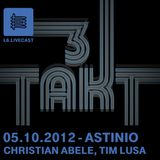 12.10.12 Dreitakt - Christian Abele, Tim Lusa, Astinio II