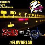 FlavorLab Live @ Vieja Escuela x La Z Urbana 919 fm - Dj Albert feat Dj Red 23-12-2017