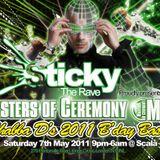 FATALITY LIVE @ SHABBA'S BDAY 2011. MCS TRIGGA, ATOMIC TEMPO, RICOCHET BANTN & IC3!!!