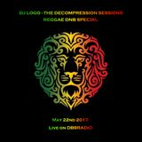 Logo - The Decompression Sessions-  Reggae DNB special -  live on DB9Radio May 22, 2017