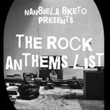 The rock anthems list