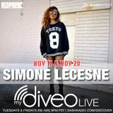 Simone LeCesne on mydiveo LIVE on Dash Radio