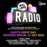ONELOVE RADIO 11 JULY - GARETH EMERY TAKEOVER SPECIAL