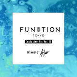 FUNKTION TOKYO Exclusive Mix Vol.16 by DJ JUNTANAKA