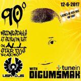 90 DEGREES ON ALL STAR DJS RADIO .. BY DIGUMSMAK .. LADIES OF 80S 90S HIP HOP .. 12-6-2017