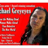 Michael Greyeyes: AMAZING Native actor on #TrueDetective, Fear the Walking Dead
