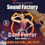 DANI FERRER SFY ARDE EN FALLAS