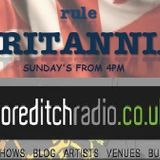 Britannia Music Live Radio Show on Shoreditch Radio - with Jamie Thorn and the Mystery Pacific
