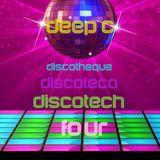 Deep C Presents Discotheque, Discoteca, Discotech Pt. 4. Cosmic space jams for your soul.