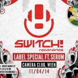 DORIAN, SKORE & NAYZ / MC'S INJA & BOMBA @ SWITCH! CAMERA CLUB 11/04/14