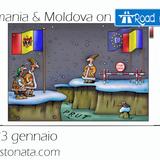 Radio Stonata.Road to ESC. Romania. Moldavia. Emanuele Lombardini. 23.01.2017