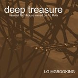 [Deep Treasure] mnml house tech house mixed by Ac Rola Lg Mg Booking Tel Aviv