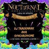 "DJ Trademark aka Synchronome Live & Nocturnal Wonderland 2016 ""Boombox"""