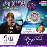 ASTROMAGA 02.04.19 FENG SHUI CON MARTHA CARDONA