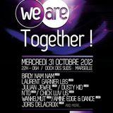 2012.10.31 - Amine Edge & DANCE @ WeAre Together - Dock Des Suds, Marseille, FR