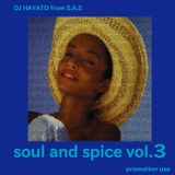 SOUL AND SPICE vol3 dj HAYATO(S.A.S)